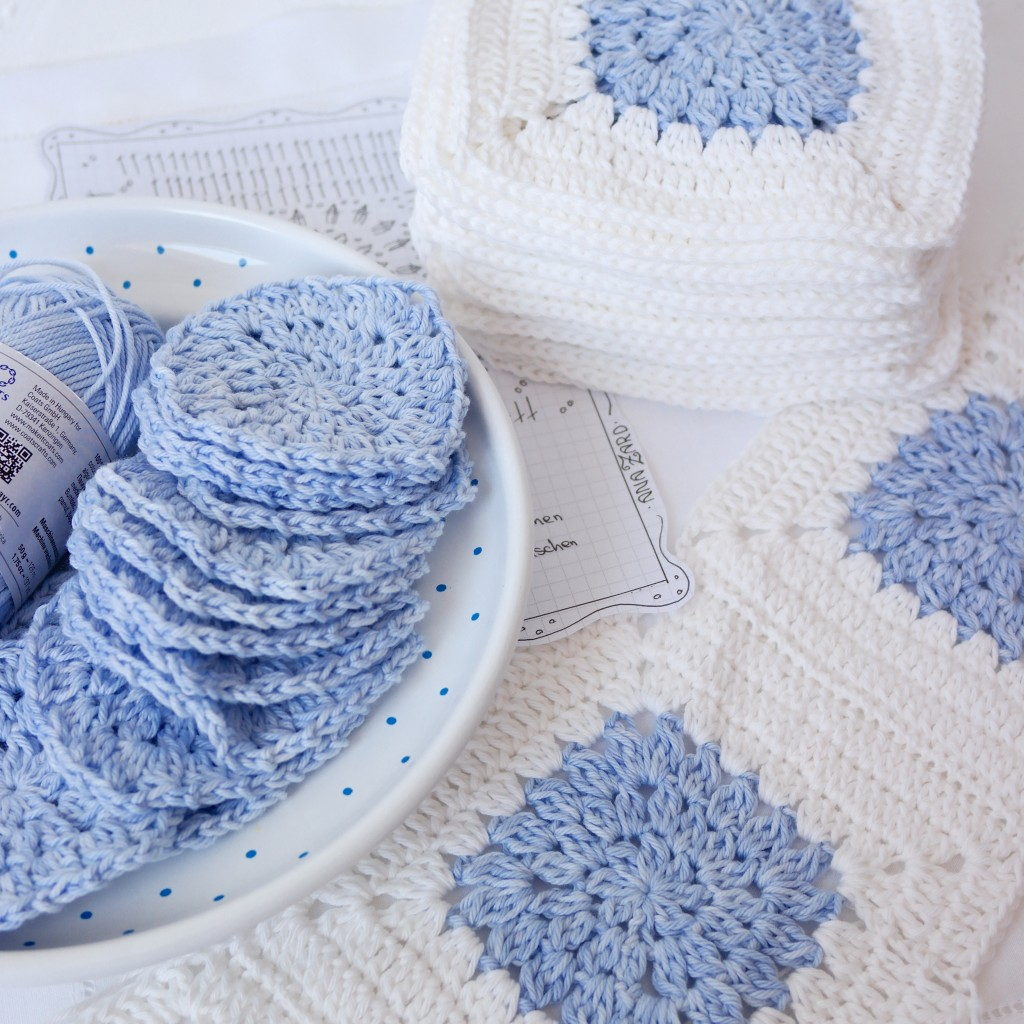 Babydecke Blue